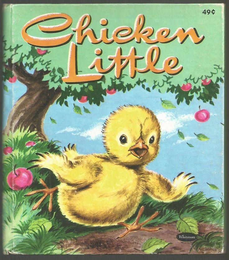 Chicken Little book cover art