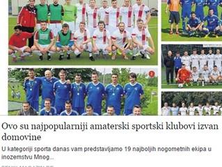 Populäre kroatische Vereine im Ausland
