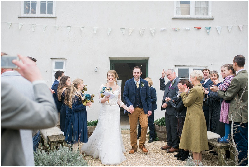 boho wedding at River Cottage