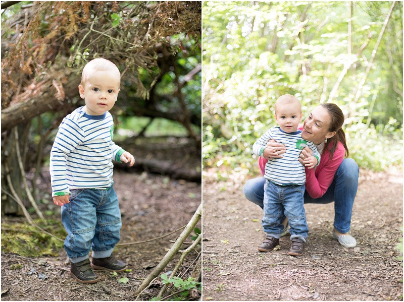 Cotswolds family photographer Worcester Woods mini shoots mother and sons