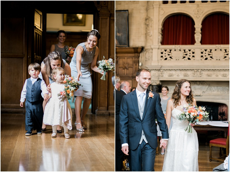 Oxford Town hall laid back wedding