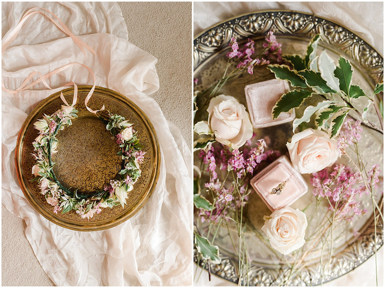 A dreamy pink and white wedding at Pennard House
