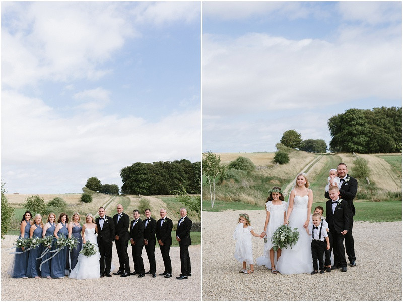 From your wedding photos to your wedding venue, entertainment and flowers, check out these five steps to plan your dream relaxed Gloucestershire wedding. Wedding party at Cripps Stone Barn
