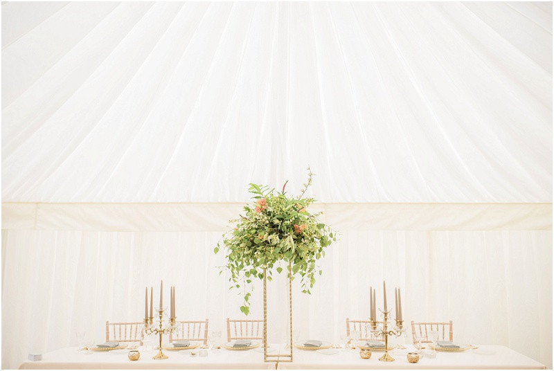 elegant marquee styling Cotswolds marquee wedding venue West Country marquees
