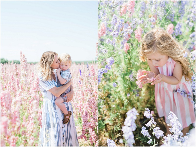 A confetti fields photo shoot with Cheltenham family photographer