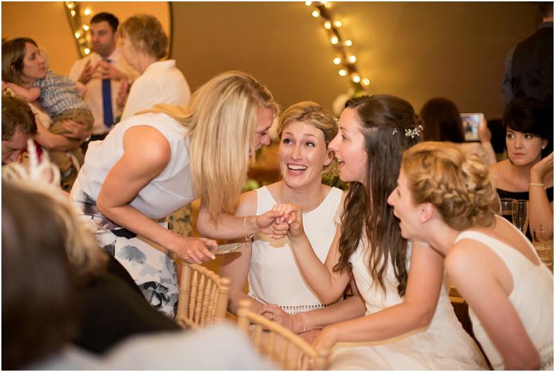 Boho tipi wedding Peak tipis Nottinghamshire bride and bridesmaids