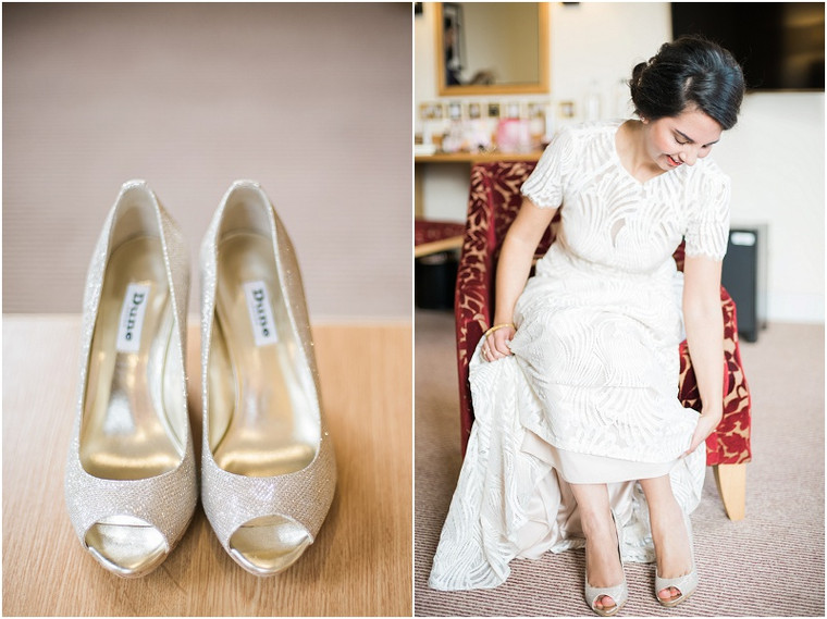 An intimate winter wedding at Malvern Registry Office