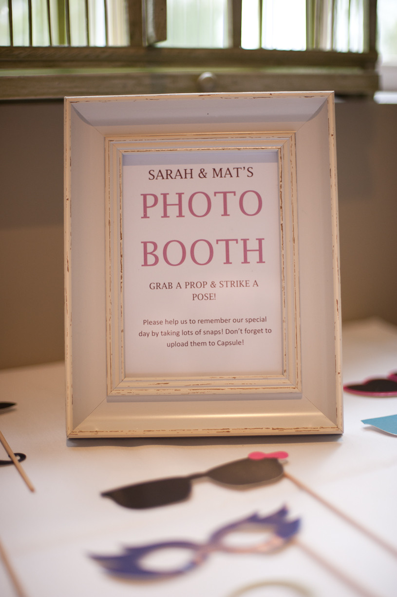 stubton hall wedding photo booth