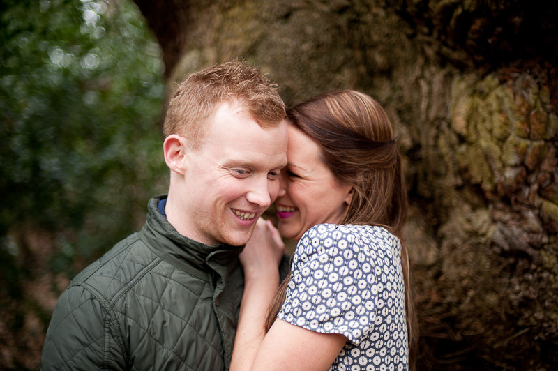 engagement shoot Moseley Bog, Birmingham
