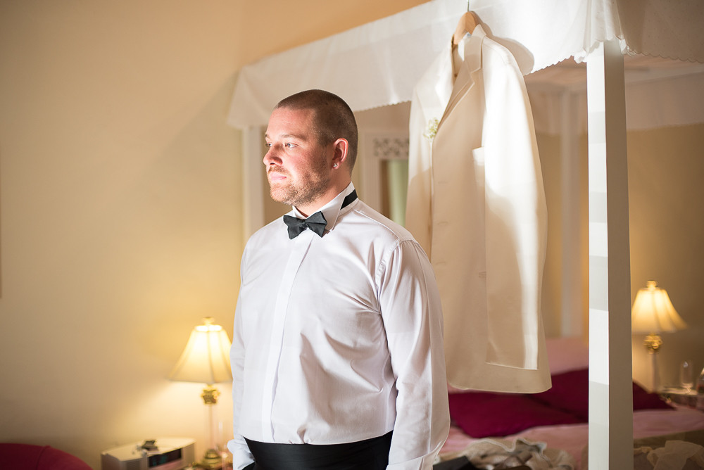 tuxedo for gay wedding, The Outbuildings, Anglesey