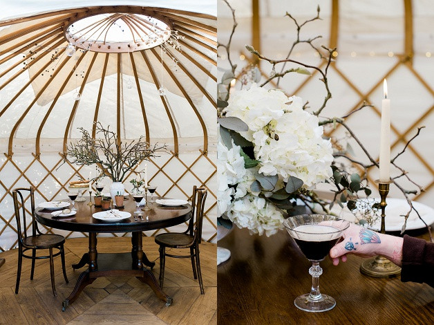 boho wedding styling for an outdoor Cotswolds wedding