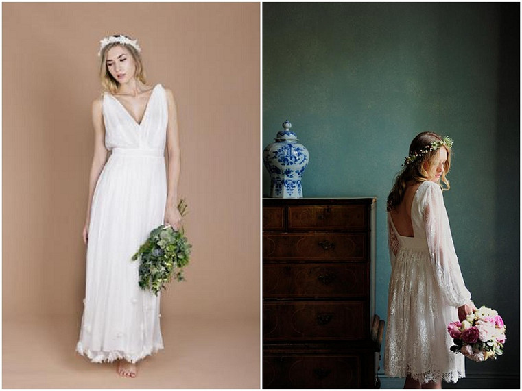 Eco-Luxe Wedding dress designer - MINNA