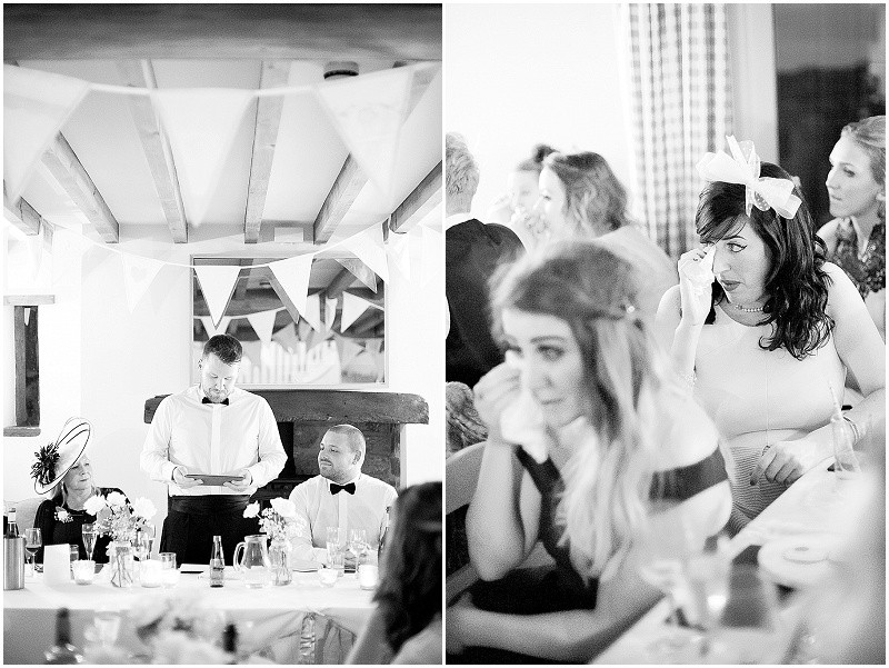 wedding speeches at a gay wedding, The Outbuildings, Anglesey