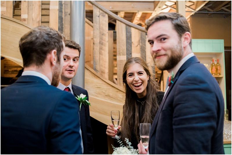 An international London wedding at Brixton East