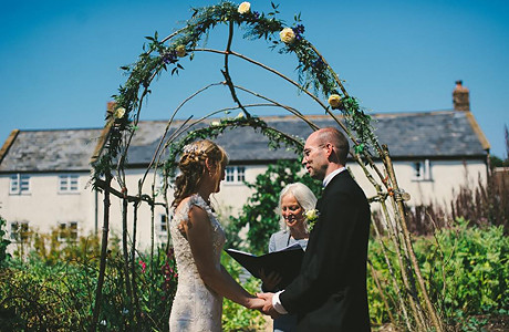 River Cottage Devon wedding