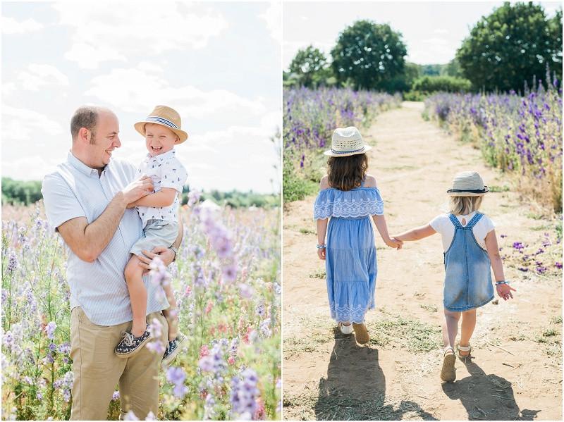 Confetti flower fields photo shoots