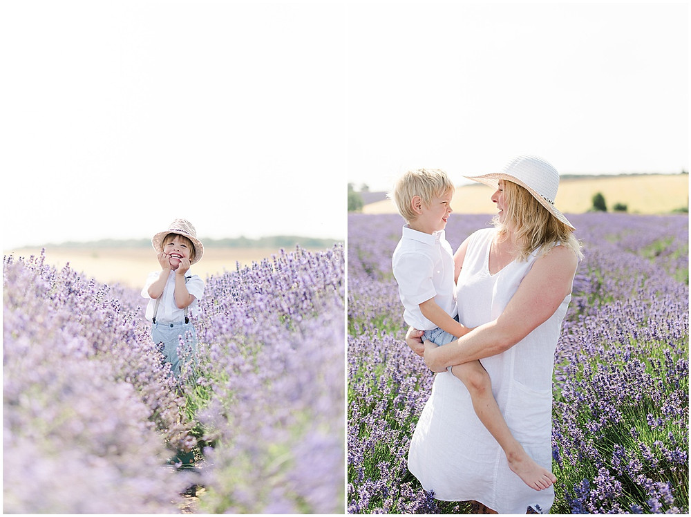 cotswolds family photographer at Cotswold Lavender
