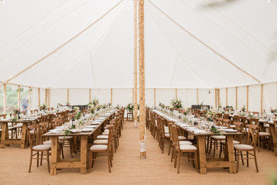 Sperry tent Cotswolds wedding