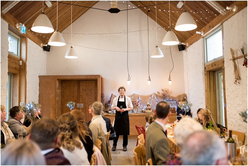 River Cottage chef describes food at River Cottage Wedding