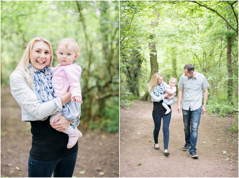 Cotswolds family photographer Worcester Woods mini shoots
