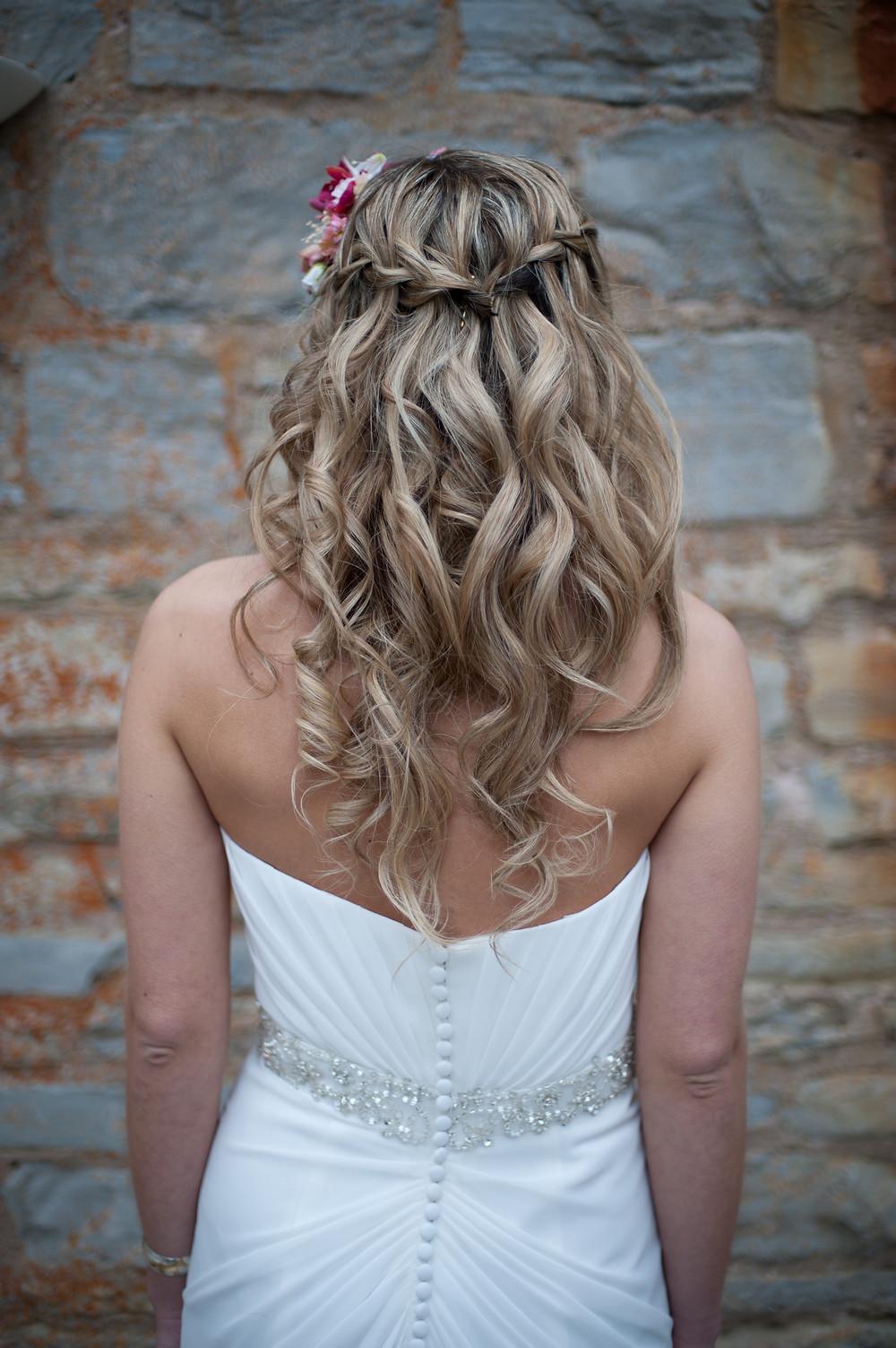 rustic bridal hair Hevans Bespoke Hair