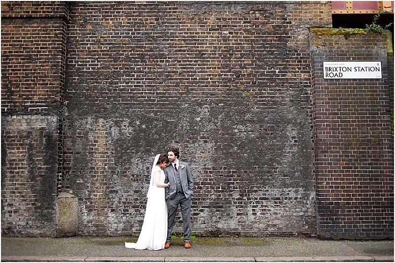 Brixton East cool London Wedding