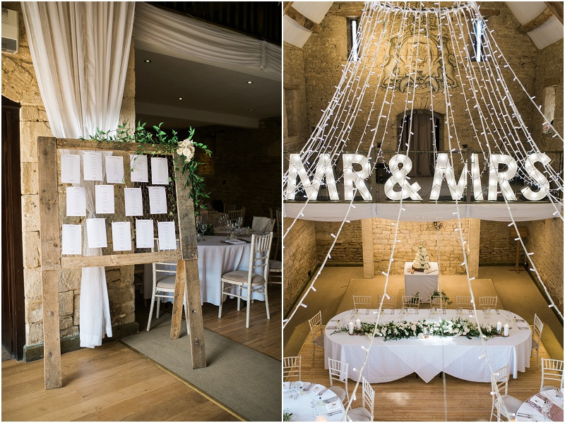 From your wedding photos to your wedding venue, entertainment and flowers, check out these five steps to plan your dream relaxed Gloucestershire wedding. Elegant styling at Great Tythe Barn