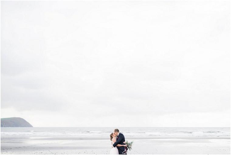 A Beautiful Beach Wedding in Pembrokeshire