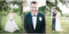 fine art Cotswolds weddng photography with groom in a tuxedo and bride under an arch of roses