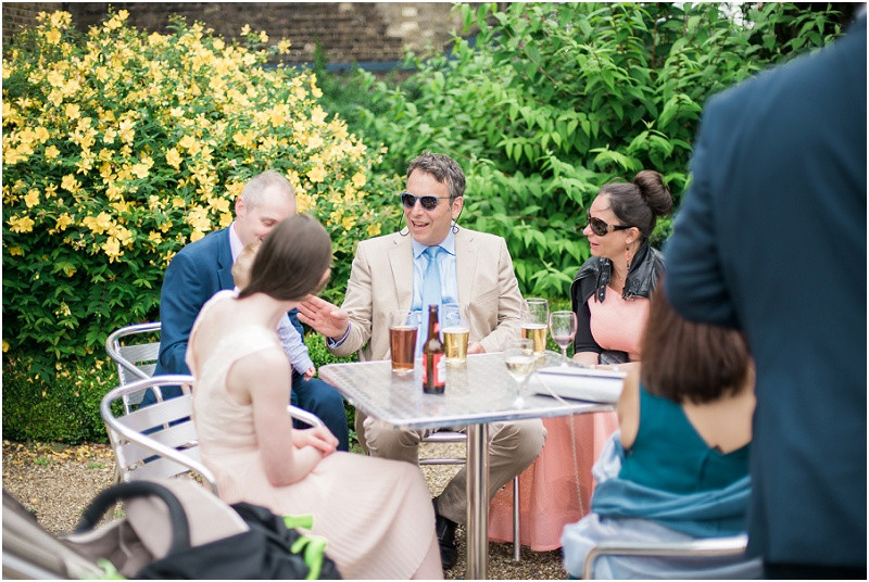 Guests at London wedding The House Mill Bromley by Bow