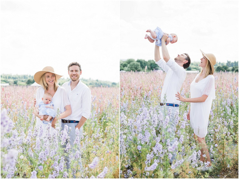 Confetti flower fields photo shoots family and baby photographer Cotswolds