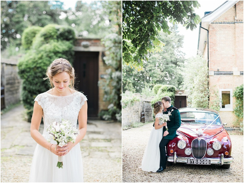 Cotswolds marquee wedding Oxford boho wedding dress military wedding
