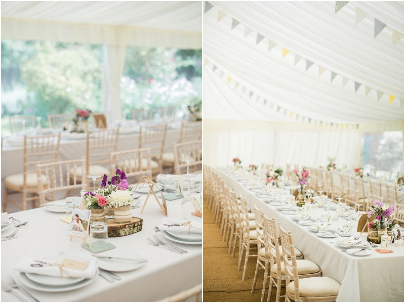 Cotswolds marquee wedding Oxford boho styling
