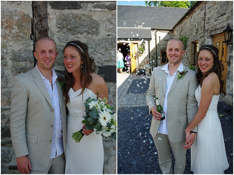 My Rustic, Welsh, barn wedding