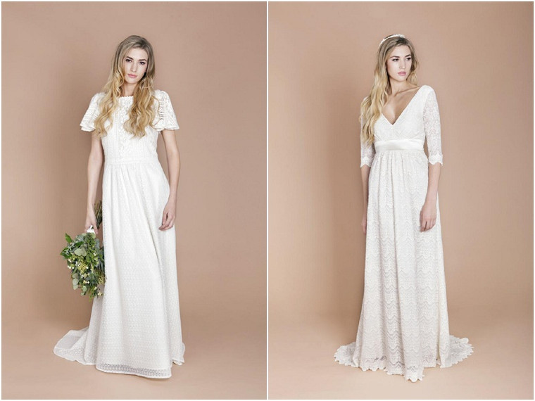 The best boho wedding dress suppliers