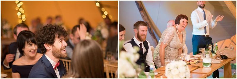 Boho tipi wedding Peak tipis Nottinghamshire wedding speeches