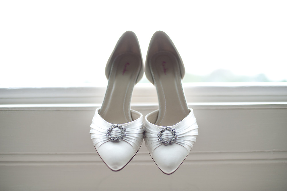 stubton hall rainbow wedding shoes