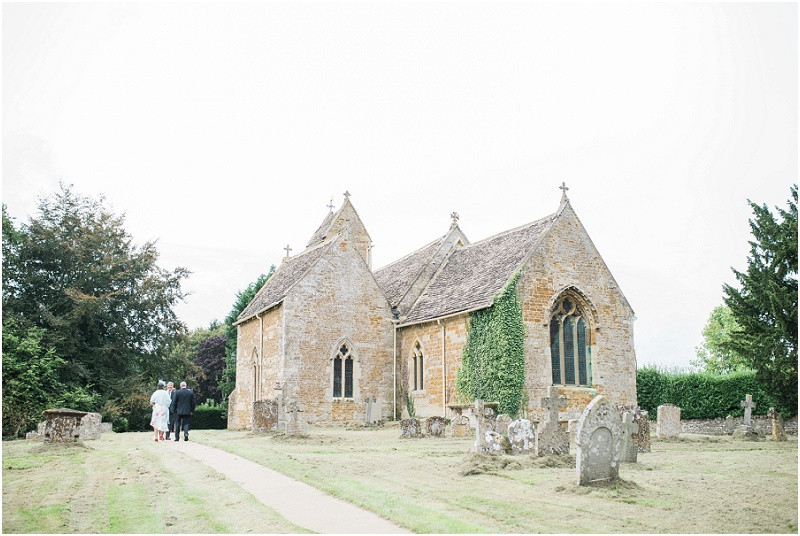 Cotswolds church wedding