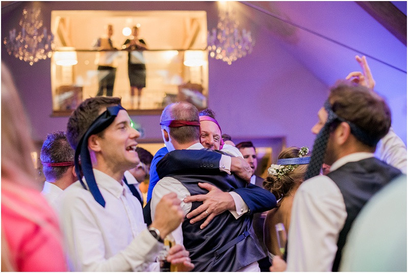 guests dancing at Cotswolds wedding venue Blackwell Grange