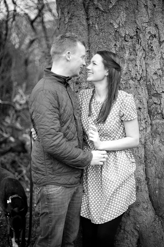 engagement shoot, Moseley Bog, Birmingham