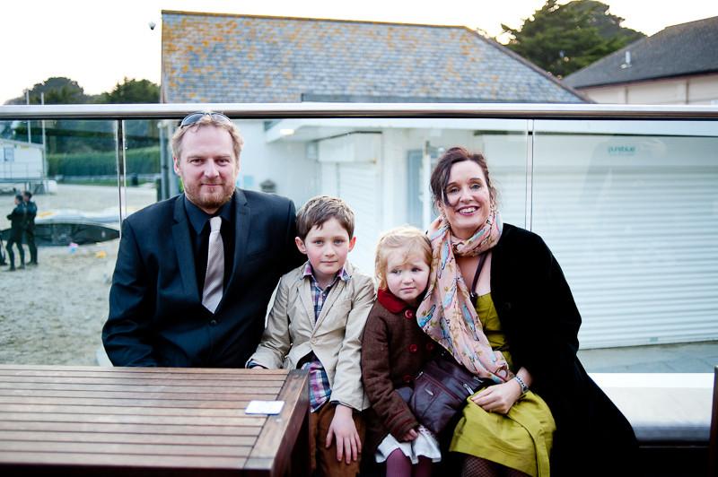 Cornwall beach wedding Gylly Beach cafe