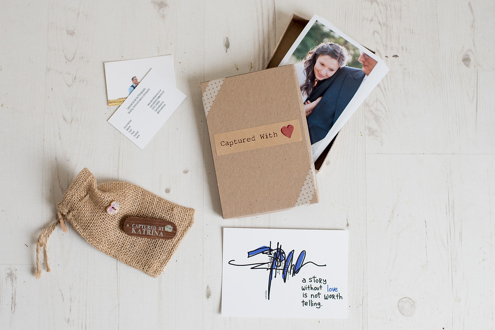 wedding photography eco-friendly packaging
