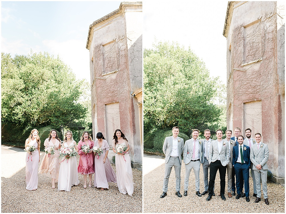 Find lots of luxury wedding inspiration in this dreamy bohemian summer wedding from a Pennard House Wedding Photographer