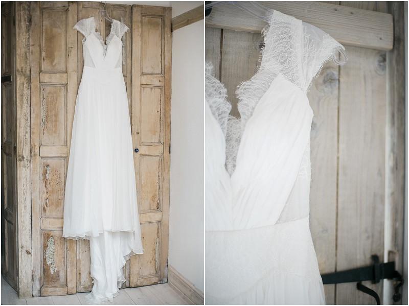 Boho wedding dress for a tipi wedding by Peak Tipis
