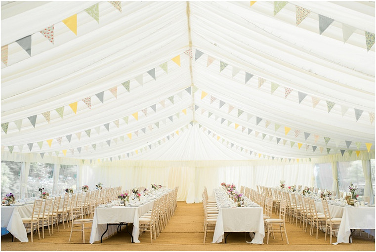 How to Style a Luxury Marquee Wedding