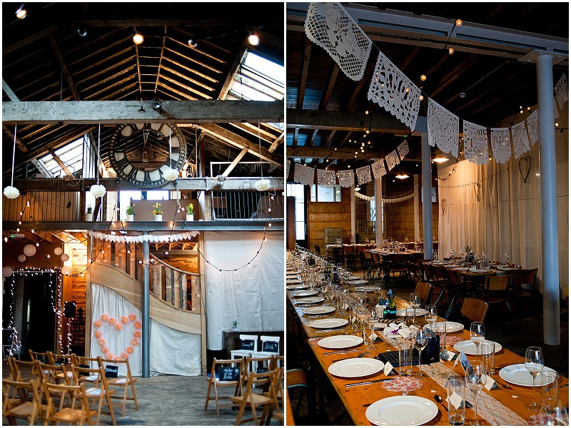 unique styling at Brixton East wedding venue London