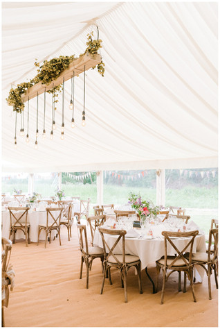 Cotswolds marquee wedding