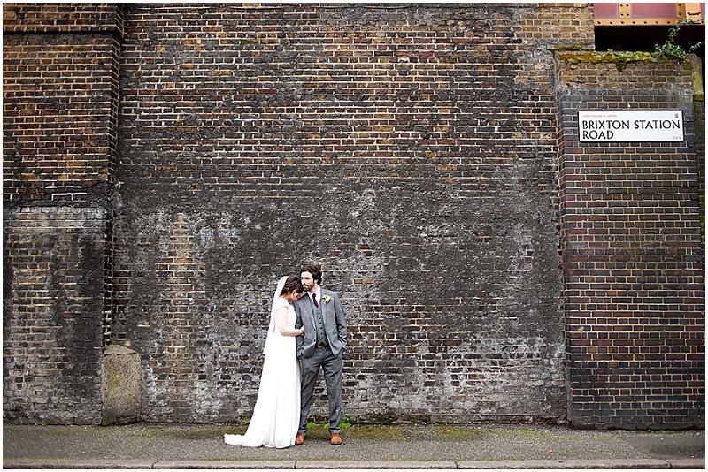 Brixton East London city wedding