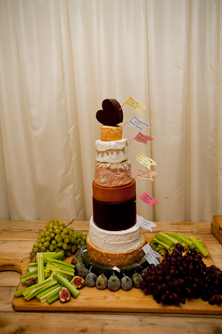 wedding cheese stack cake