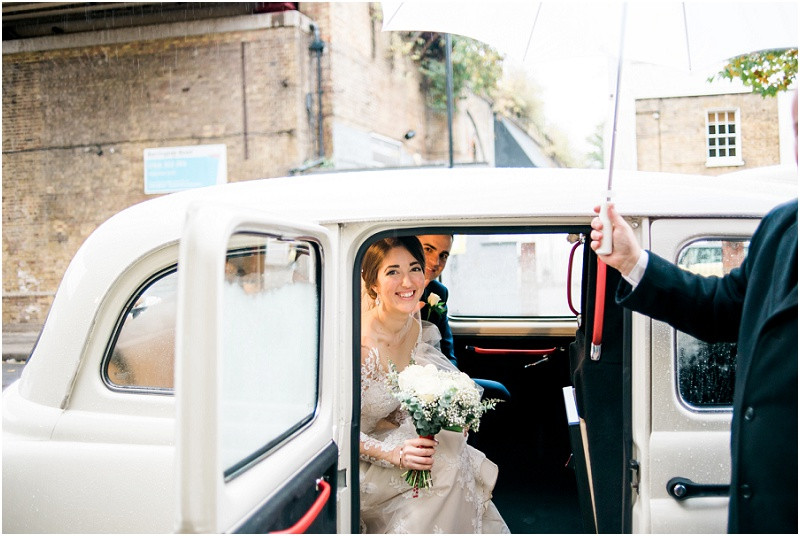 An international London wedding at Brixton East